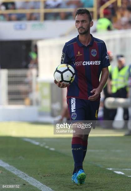 GD Chaves defender Ruben Ferreira from Portugal in action during the Portuguese League Cup match between Portimonense SC and GD Chaves at Estadio...