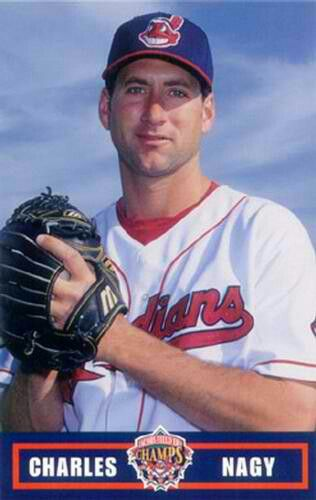Charlie Nagy. Started 29 games with a 16-6 record, 2 CG and a 4.55 ERA. In 178 innings pitched, he faced 771 batters and gave up 194 hits, 90 ER, 20 HR, 61 BB and had 139 strikeouts. The Indians ace for several years, this was his best season. RHP, wore #41.