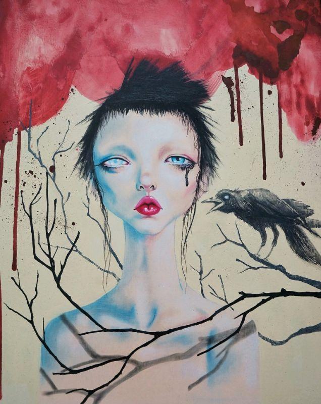 Cría cuervos   Arte Manifiesto Harumi Hironaka