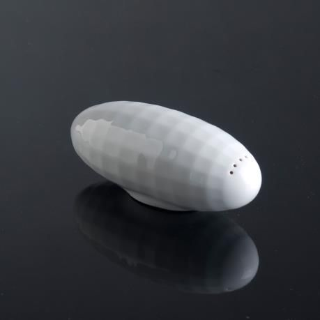 Salt Cellar Zeppelin by Studio Piršč Porcelain.