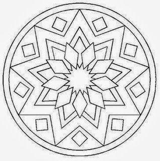 Mandalas Para Pintar: mandalas para imprimir- coloring page
