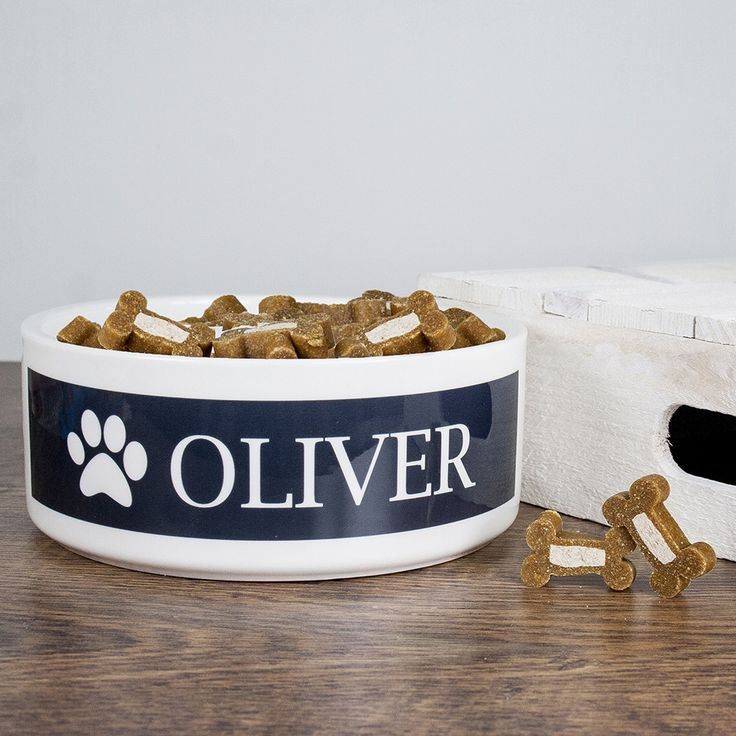 Personalised Dog Paw Food Bowl - yourgifthouse