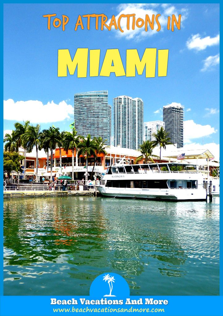 Top Miami Attractions not to miss for tourists - American Airlines Arena, Marlins Ballpark,South Beach,Everglades National Park and other landmarks and points of interest