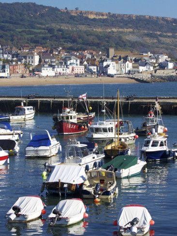 ~Lyme Regis Harbor ~ Dorset, England~