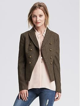 Heritage Olive Hacking Jacket | Banana Republic {$149.99} Gorgeous jacket! Great cut, color, and details to make it extra special.