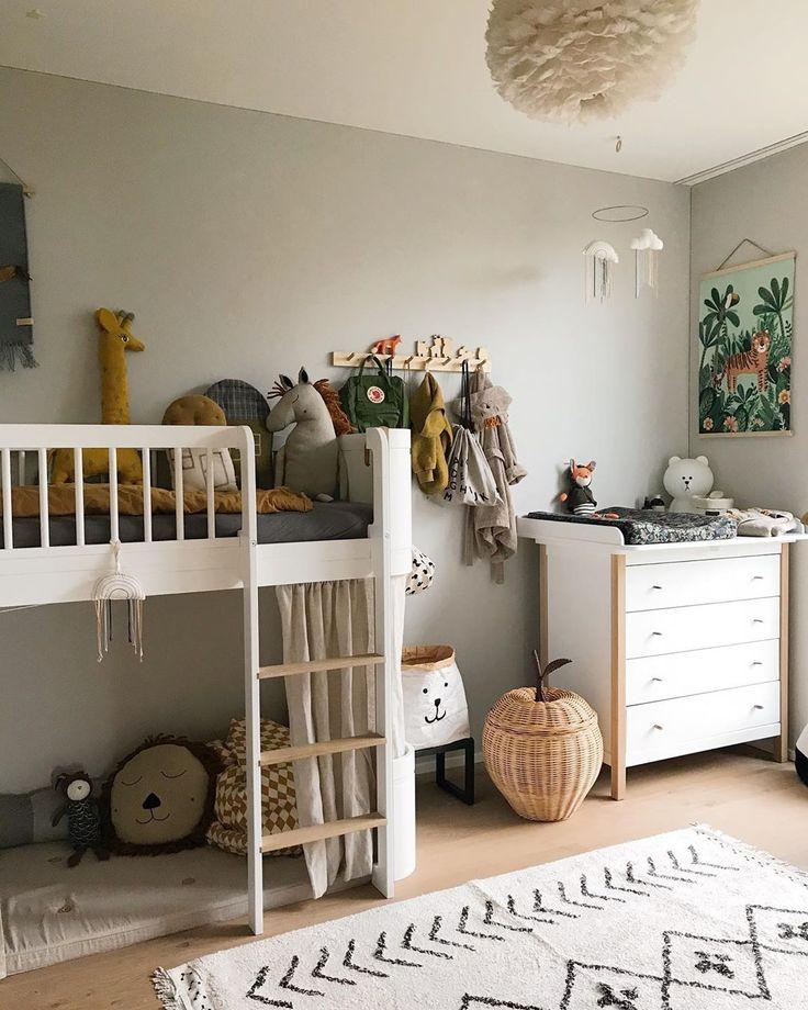 Erdtöne im Kinderzimmer, wir lieben sie🌾 • • • kidsroom