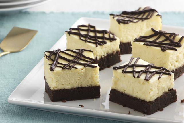Vos deux desserts favoris dans une barre à manger avec les doigts !