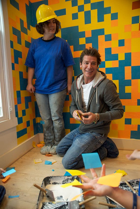 Tips for choosing and testing paint #colors for your home by Ty Pennington.