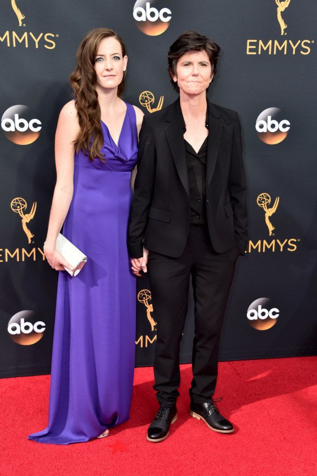 Stephanie Allynne and Tig Notaro At The 2016 Emmy Awards