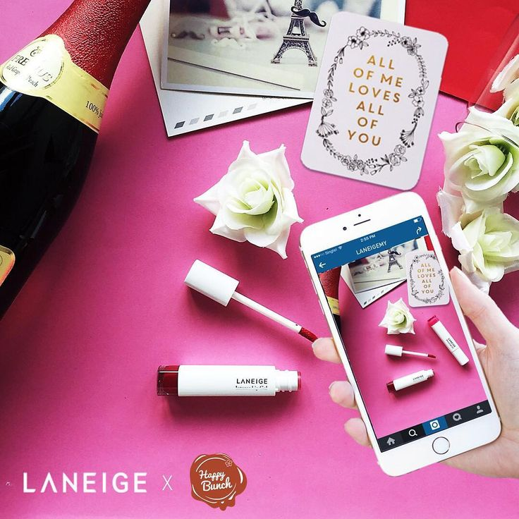 Hey lovebirds! To make #ValentinesDay extra special and memorable, we're giving away 5 sets of Happy Bunch Valentine's Flowers and 2 Laneige lipsticks!  To win these #romantic treats, simply post a photo of your most memorable Valentine's Day on IG and tag ‪#‎LANEIGEMY from now till 12 Feb.  Was it a meaningful gift, candlelit dinner or a room filled with rose petals? All memories are welcome ❤️ #LANEIGEMY