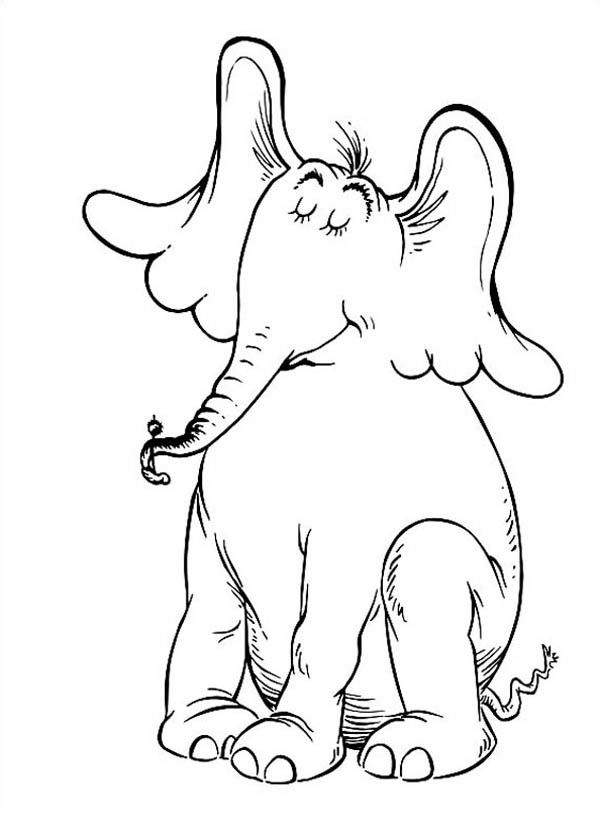 Horton Hears A Who Coloring Pages Collection Horton Hears A Who