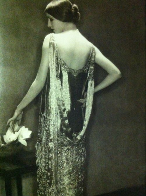vintage Chanel  in the early days..form fitting & detailed trim. #dreamredcarpet @The Zoe Report @Rent the Runway