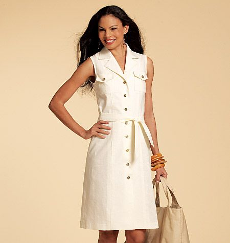 Misses' Shirtdresses In 3 Lengths and Sash