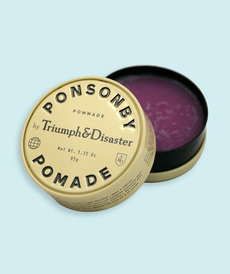 Ponsonby Pomade. | http://www.huntingforgeorge.com