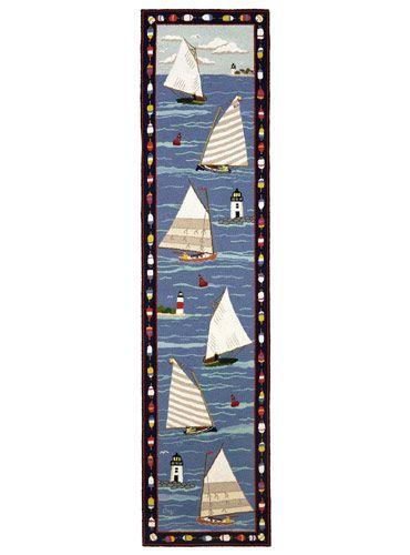 Go Sailing.: Hooks Mats