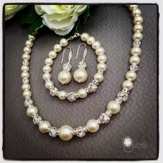 Mother Of The Bride Jewelry: 17 Best Images About Wedding Jewelry On Pinterest