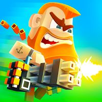 Pixel Arena Online Multiplayer Blocky Shooter 1.20.0 APK  MOD  action games