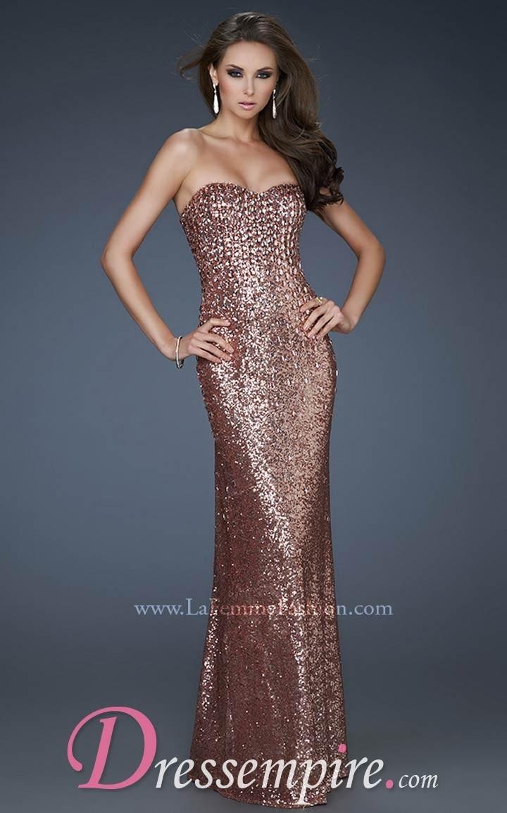 19 besten Metallic Dresses Bilder auf Pinterest | Dresses 2013 ...