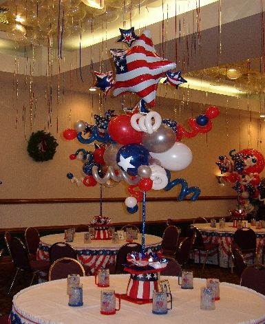97 best Balloon Centerpieces images on Pinterest Balloon