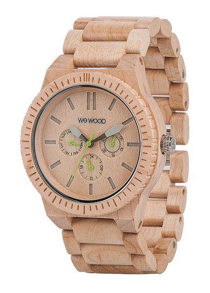 WeWood Eco friendly watch - Kappa Beige. 100% Natural Wood with miyota movement. $159 WeWOOD NZ.