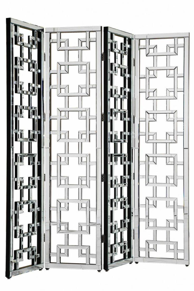 Modern Screen Mirror (MF 3015) By Elegant Lighting