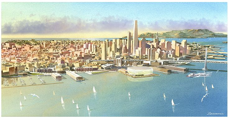 Golden State Warriors new arena in San Francisco 2017. I can't wait. The City Is Back!