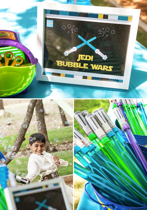 8 Creative Star Wars Party Games and Activities {Legos & Lightsabers Part 2}