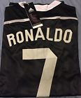 For Sale - Cristiano Ronaldo Real Madrid 2014-2015 Black Long Sleeve Jersey L LARGE 3Rd Kit  - See More at http://sprtz.us/MadridEBay