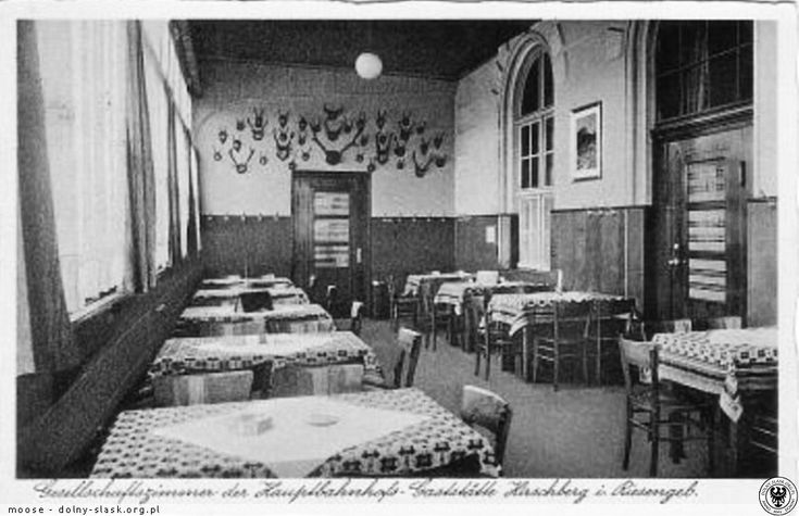Restauracja dworcowa w Jeleniej Górze - pokój biznesowy
