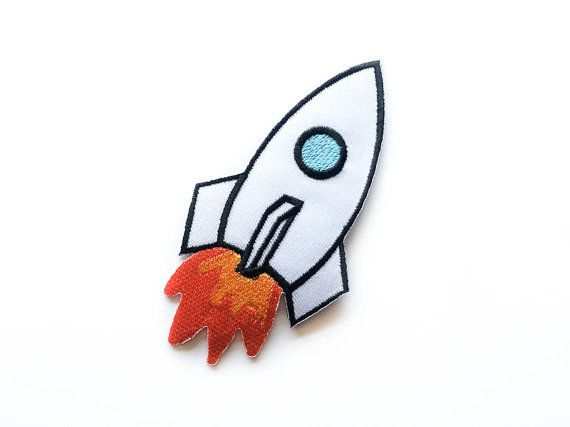 Space Shuttle-Patch / Space aufbügelbare Flecken / von Tattooit