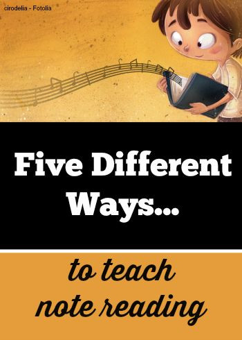 A change in approach may be all you need to help a struggling student. Check out these 5 different ways so you can mix it up when needed #PianoTeaching
