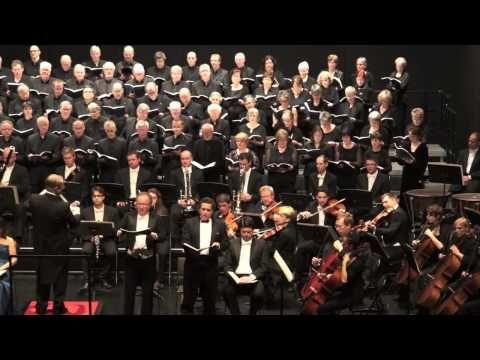 SCHUBERT'S DEUTSCHE MESSE with 300 CHOIR SINGERS @ St. Paul's Church, Antwerp - YouTube
