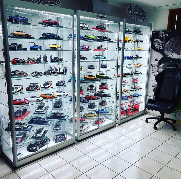 Pin By Alan Braswell On Collections Model Cars Collection Diecast Cars Display Game Room Design