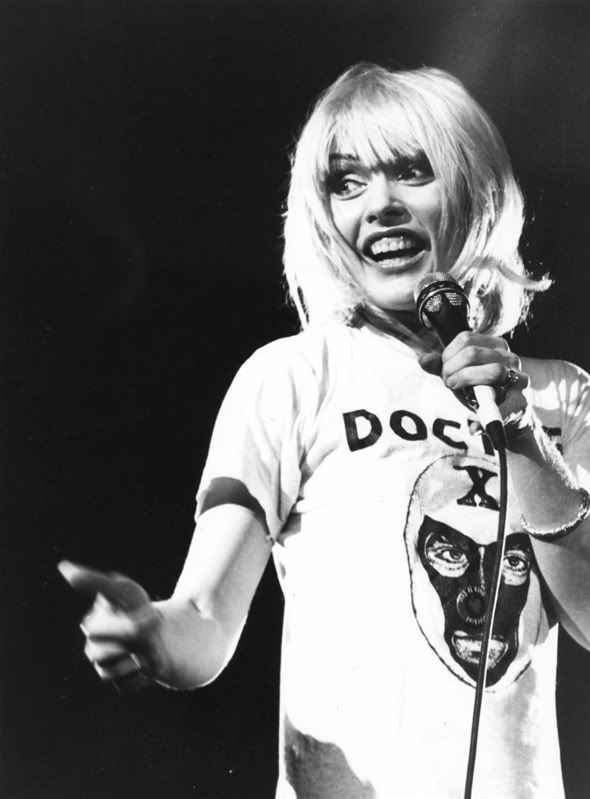 Debbie Harry in Doctor X Lucha Libre t-shirt | Art &amp- Artists I ...