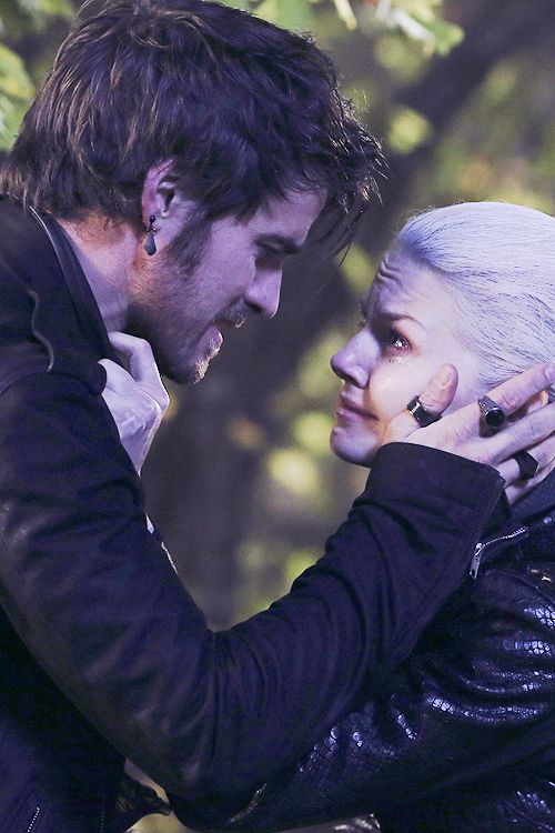 """""""Let me die a hero."""" #OUAT #CaptainSwan Forever crying!!"""