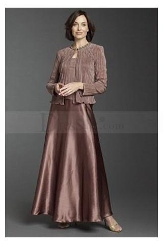 Floor-length Designer Vintage Mother Of Bride Gowns