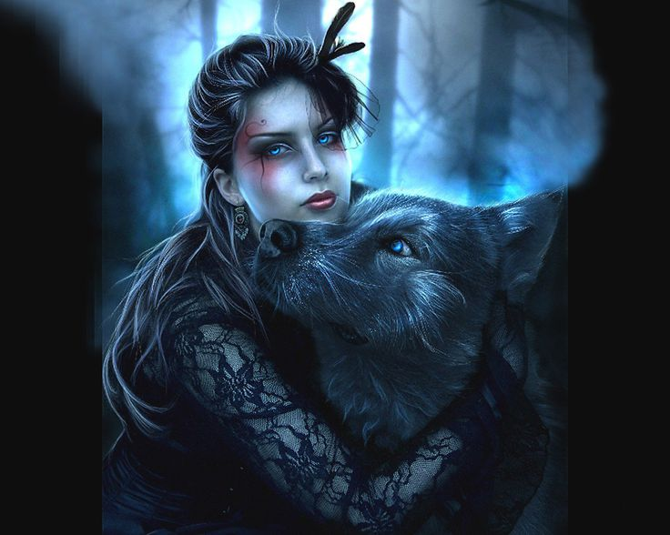 Fantasy Wolves Wolf And Fairy Fairy Fantasy Wolf Wolves