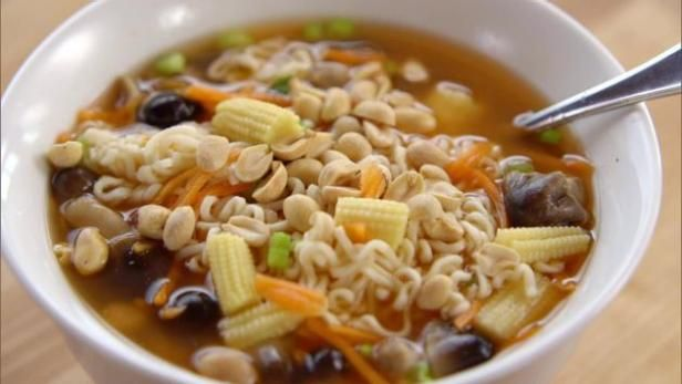 Get Tea Kettle Noodle Soup Recipe from Food Network