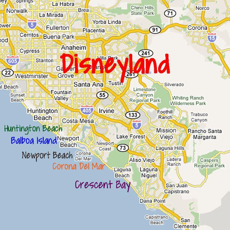 Map Of Corona And Surrounding Cities