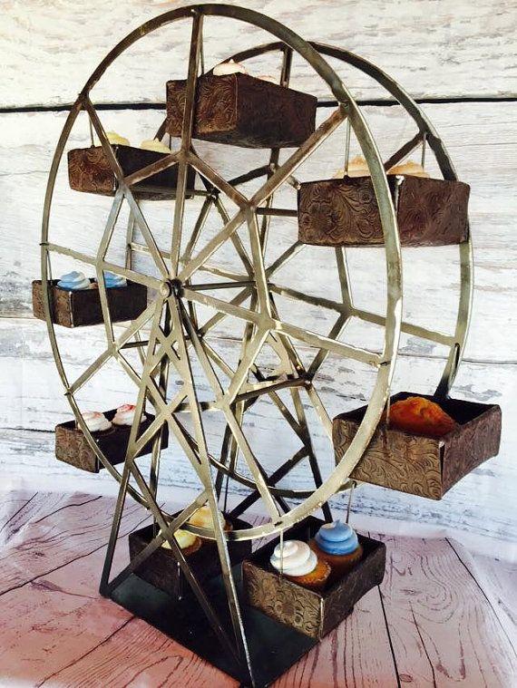 Ferris Wheel Party Centerpiece Ferris Wheel Cupcake Holder