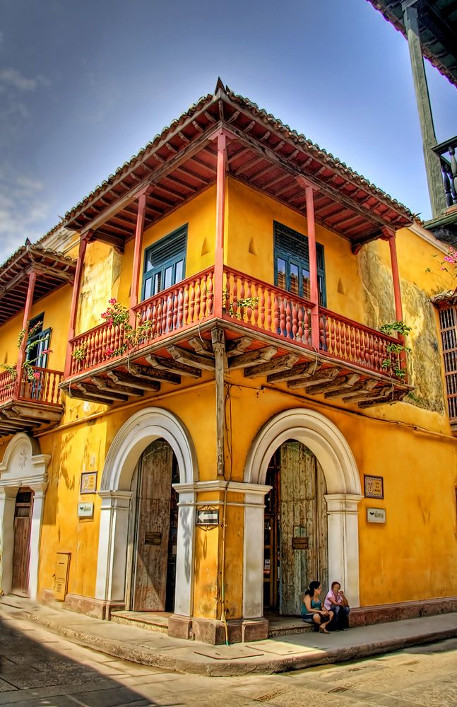Cartagena, Colombia I took this photo on my last trip, here is where couple's meet.