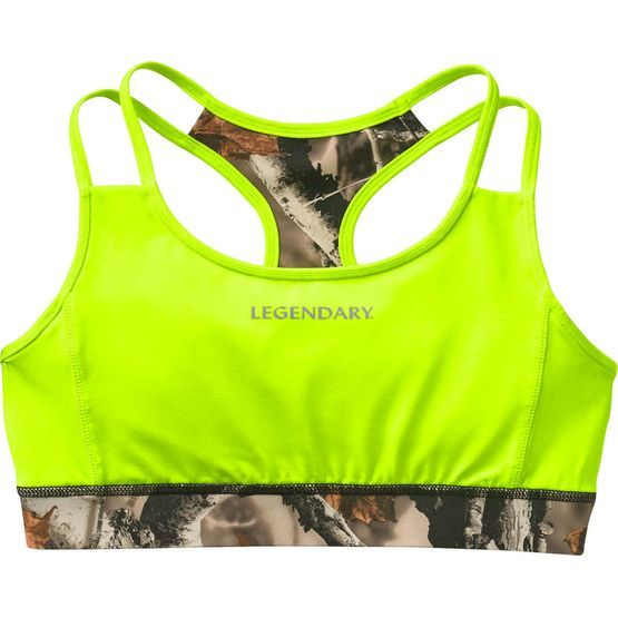 Women's Camo Stadium Reversible Sports Bra at Legendary Whitetails