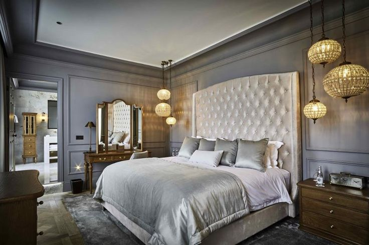 The stylish Heron bedroom