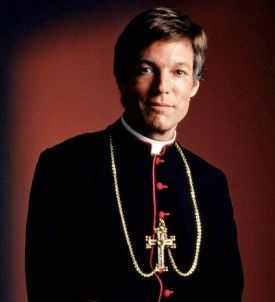 "Richard Chamberlain as Father Ralph de Briccasart in ""The Thorn Birds"". He was"