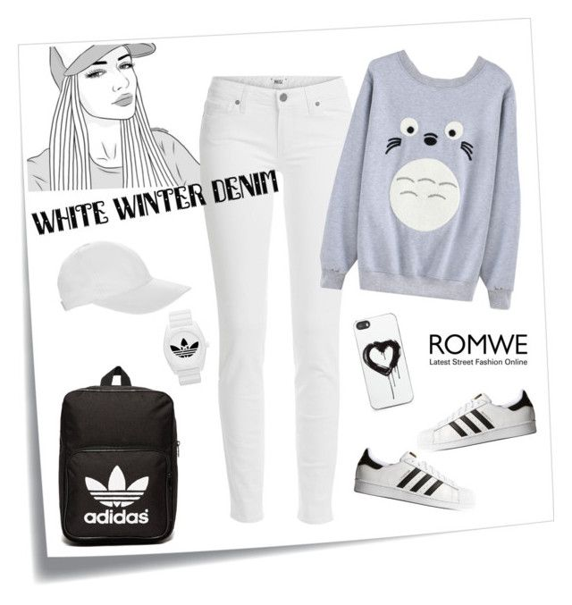 """Untitled #348"" by veronica7777 ❤ liked on Polyvore featuring Post-It, Paige Denim, OLYMPIA Activewear, adidas Originals, adidas and Zero Gravity"