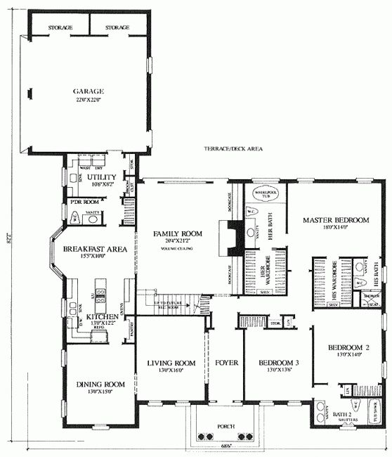 22 best images about his hers bathrooms on pinterest for His and hers bathroom floor plans