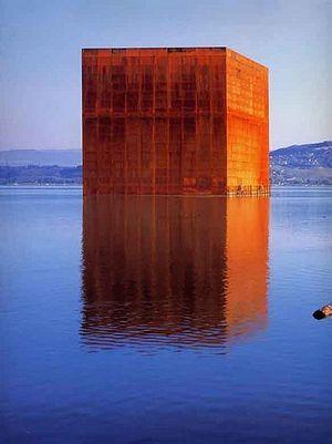 Monolith. Jean Nouvel. 2000-1. Morat, Switzerland.