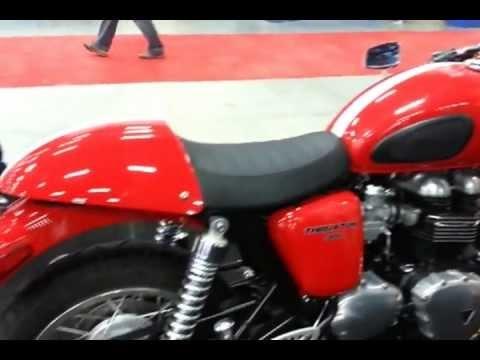 Coming soon in india new Triumph Thruxton 900 bike