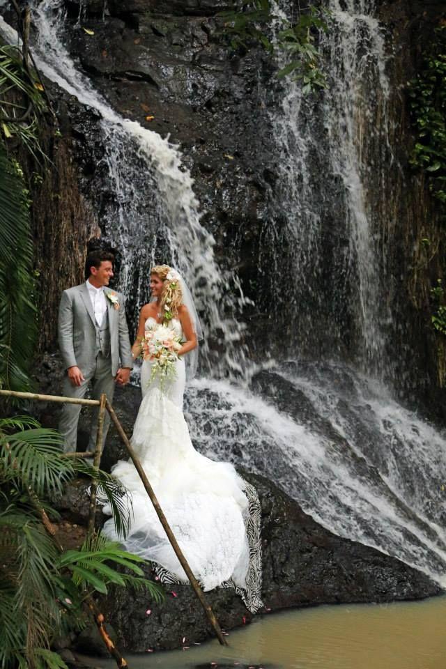 Waterfall Destination Wedding Location St Lucia Awesomecaribbeanweddings Visit