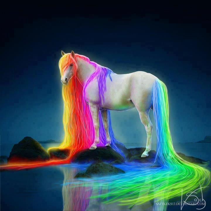 Rainbow Unicorn | Unicorns&Pegasus | Pinterest